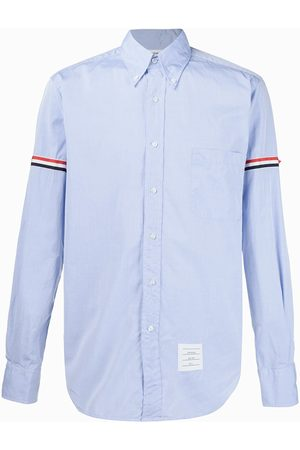 Thom Browne Striped sleeve shirt