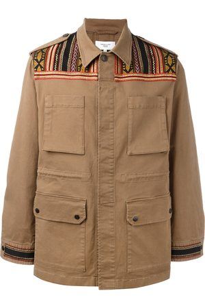 Fashion Clinic Embroidered panel field jacket