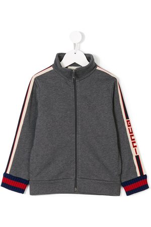 Gucci Menino Camisolas com capuz - Logo stripe sweatshirt