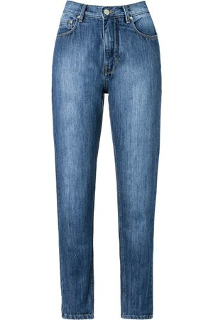 AMAPÔ High waist straight jeans