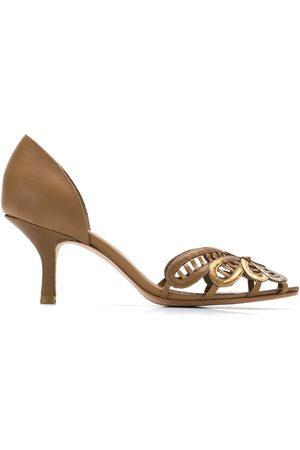 Sarah Chofakian Leather pumps