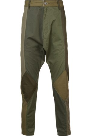 MOSTLY HEARD RARELY SEEN Twill drop crotch pants