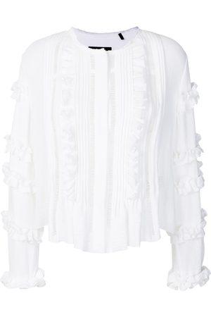 Isabel Marant Cosmos ruffled blouse