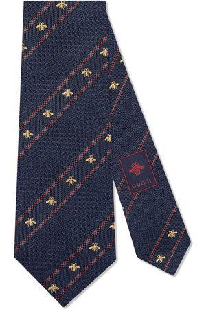 Gucci Homem Laços de Colarinho - Bee Web silk tie