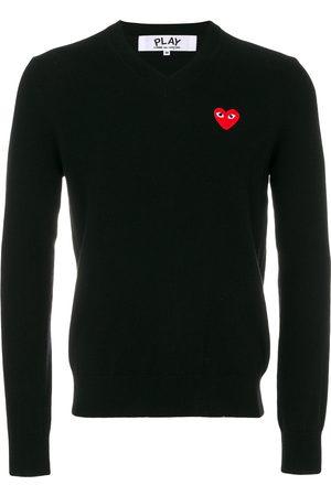 Comme des Garçons Heart logo sweater
