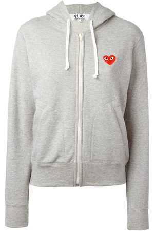 Comme des Garçons Embroidered logo hoodie