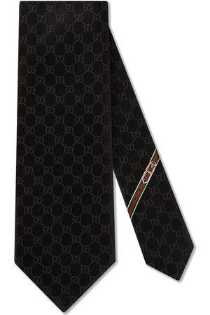 Gucci Homem Laços de Colarinho - GG pattern silk tie