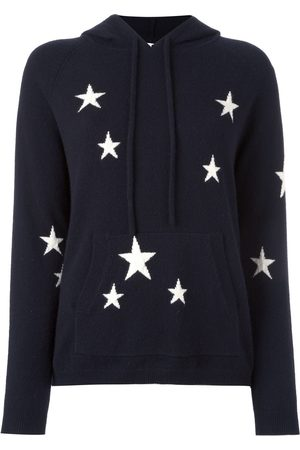 Chinti & Parker Cashmere star intarsia hooded sweater