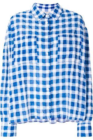 Natasha Zinko Patterned oversized shirt