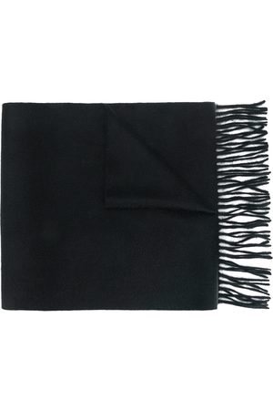 N.PEAL Woven ripple scarf
