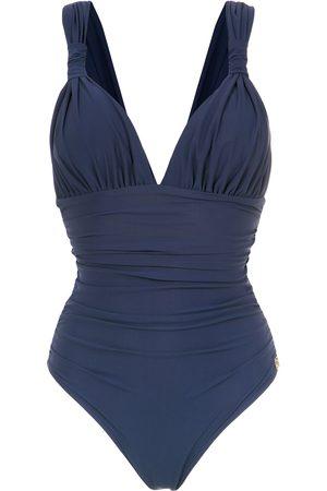 Brigitte Eli' draped swimsuit