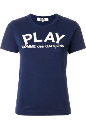 Comme Des Garçons Play Slim fit logo T-shirt