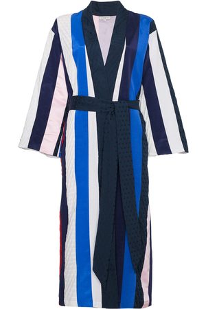 Natasha Zinko Striped midi robe