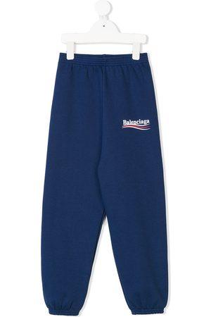 Balenciaga Kids Logo track pants