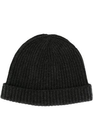 N.PEAL Homem Chapéus - Ribbed-knit cashmere beanie