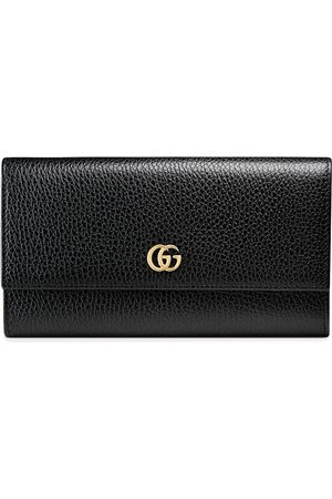 Gucci Leather continental wallet