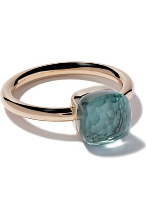 Pomellato 18kt rose gold small Nudo topaz ring