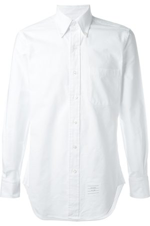 Thom Browne Classic Long Sleeve Shirt In Oxford