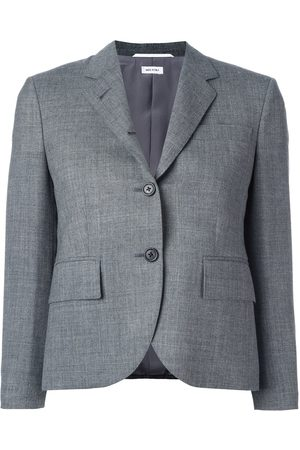 Thom Browne Classic Single Breasted Sport Coat In Medium 2-Ply Wool Fresco