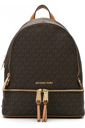 Michael Michael Kors Medium Rhea logo-print backpack