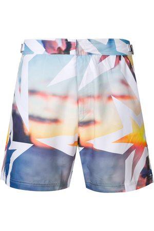 Perfect Moment Essential Resort print shorts