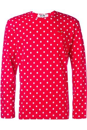 Comme des Garçons Homem Manga comprida - Long sleeve polka-dot T-shirt