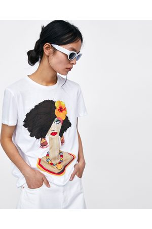 Zara T-SHIRT ESTAMPADO RAPARIGA