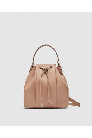 Zara SHOULDER BAG MONOCOLOR
