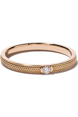 De Beers 18kt rose gold Azulea diamond band