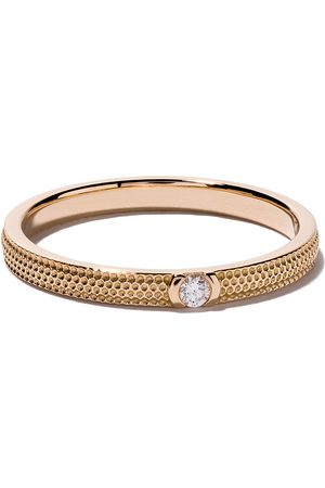 De Beers 18kt rose gold Azulea One-Diamond band