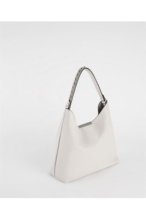 Zara SHOULDER BAG COM ALÇA DE CORRENTE