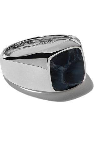 David Yurman Homem Anéis - Exotic Stone pietersite signet ring