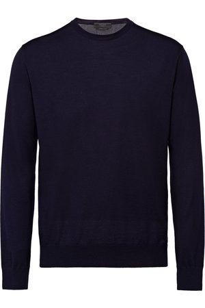 Prada Homem Camisolas - Knitted crew neck sweater