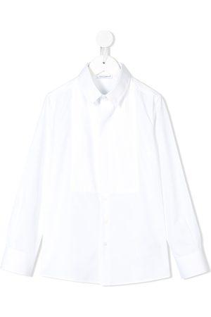 Dolce & Gabbana Menino Camisas - Pleated smart shirt