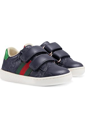 Gucci Kids Toddler Gucci Signature sneaker with Web