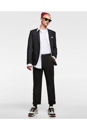 Zara Homem Blazers - BLAZER DE FATO CHINZATTO CONFORTO - Disponível em mais cores