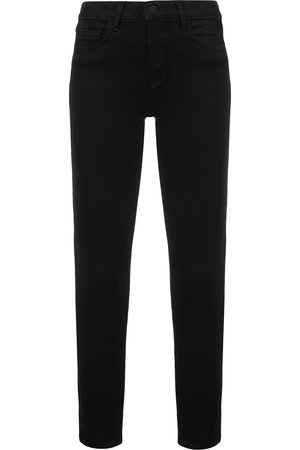 L'Agence Senhora Skinny - High rise ankle grazer jeans