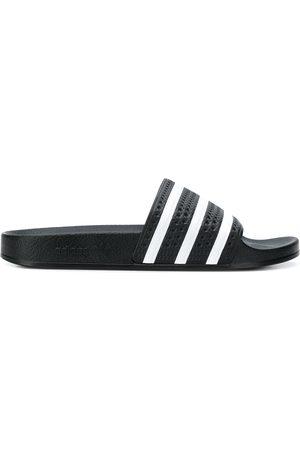 adidas Striped pool slides