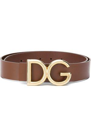 Dolce & Gabbana Homem Cintos - DG logo buckle belt