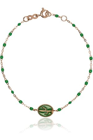 GIGI CLOZEAU Cactus bead rose gold bracelet