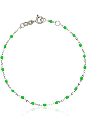 GIGI CLOZEAU 18K white gold beaded bracelet
