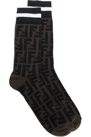 Fendi Monogram socks