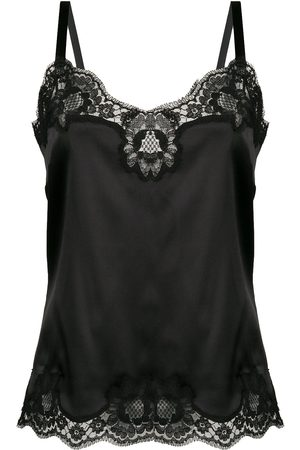 Dolce & Gabbana Senhora Corpetes - Lace trim camisole