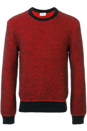 Ami Crew neck Birdseye Stitch Sweater