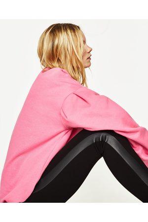 Senhora Leggings & Treggings - Zara LEGGING COMBINADA LATERAL