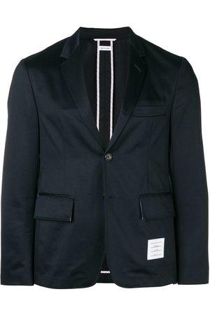 Thom Browne Homem Jaquetas - Unconstructed Cotton Sport Coat