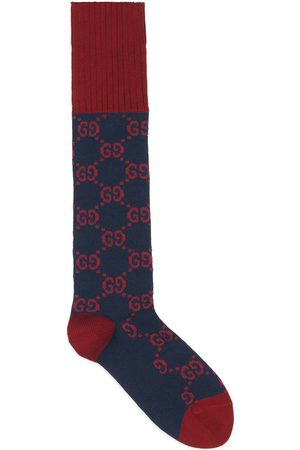 Gucci Homem Meias - Interlocking G cotton socks