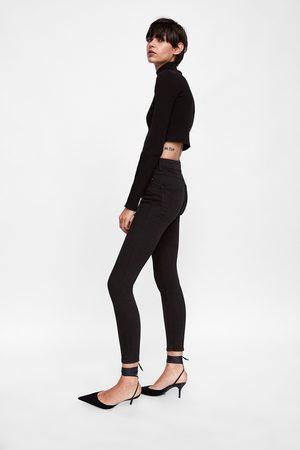 Zara THE HIGH WAIST REVOLVE BLACK