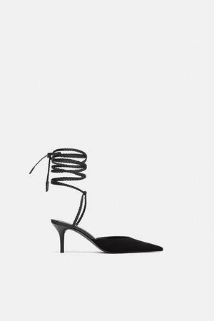 526b3aee726 Sapatos Zara de senhora sapatos comprar