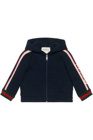 Gucci Baby sweatshirt with Gucci stripe